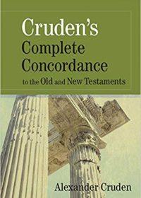 Complete Concordance Cruden